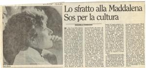 sfratto teatro la maddalena herstory  mappa luoghi storia gruppi donne  femminismo Roma