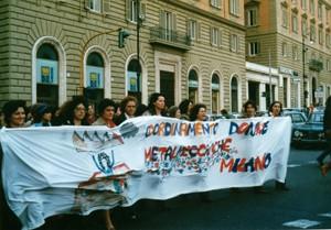 manifestazioni delle donne raccolta firme violenza sessuale Archivia. Herstory femminismo a roma e Lazio dagli anni 70 a oggi
