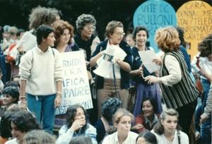 manifestazioni delle donne referendum 194 Archivia. Herstory femminismo a roma e Lazio dagli anni 70 a oggi