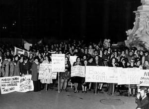 manifestazioni delle donne sessualità maternità aborto Archivia. Herstory femminismo a roma e Lazio