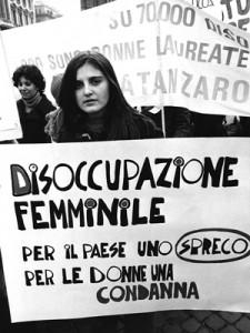 manifestazioni delle donne occupazione femminile Archivia Herstory femminismo a roma e Lazio