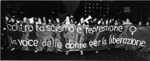 manifestazioni delle donne attentato radiodonna Archivia Herstory femminismo a roma e Lazio
