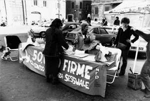 manifestazioni delle donne violenza sessuale Archivia Herstory femminismo a roma e Lazio