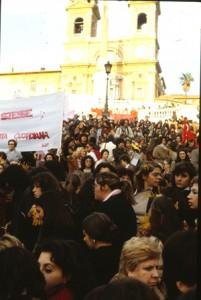 manifestazioni delle donne 8 marzo Archivia Herstory femminismo a roma e Lazio