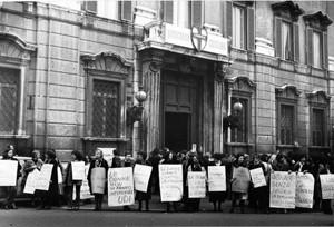 manifestazioni delle donne rapimento moro Archivia Herstory femminismo a roma e Lazio