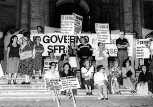 manifestazioni delle donne Archivia Herstory femminismo a roma e Lazio
