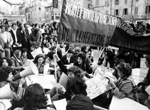 manifestazioni delle donne mld lotta femminista filf Archivia. Herstory roma Lazio