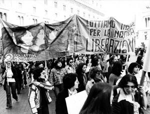 manifestazioni delle donne aborto crac Archivia. Herstory femminismo a roma e Lazio
