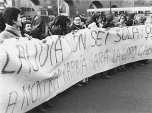 manifestazioni delle donne violenza stupro Archivia. Herstory femminismo a roma e Lazio
