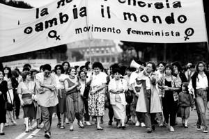 manifestazione delle donne antinucleare Archivia Herstory femminismo a roma e Lazio