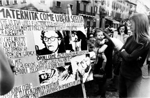 manifestazione delle donne sitin mld Archivia Herstory femminismo a roma e Lazio