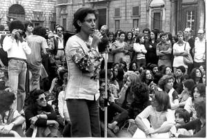 manifestazione delle donne sitin stupro circeo Archivia Herstory femminismo a roma e Lazio