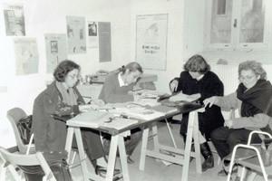 redazione  paese delle donne centro femminista separatista herstory  mappa luoghi storia gruppi Roma