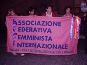 Buon Pastore occupato Affi herstory  femministe lesbiche  luoghi donne storia collettivi manifestazioni gruppi Roma