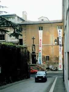 buon pastore occupato  Centro Femminista sabatini herstory  luoghi donne storia gruppi Roma