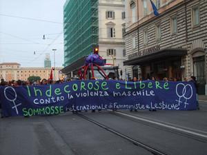 22 manifestazione herstory  femminismo lesbiche  luoghi donne collettivi gruppi Roma