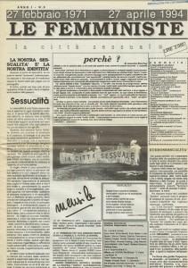 CFS  centro separatista femministe herstory  lesbiche  luoghi collettivi gruppi Roma