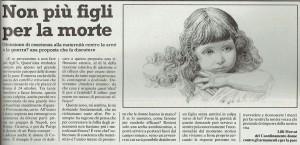 maternità obiezione manifestazione herstory  femminismo luoghi donne storia gruppi Roma