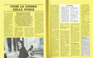 articolo noi donne centro femminista separatista herstory  mappa luoghi storia gruppi Roma