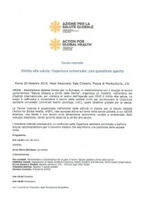 tavola rotonda Associazione italiana donne sviluppo herstory  femminismo luoghi donne storia gruppi Roma