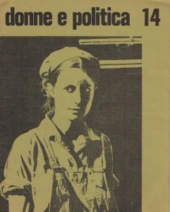 rivista Donne e politica copertina herstory  femministe  luoghi donne storia collettivi manifestazioni gruppi Roma