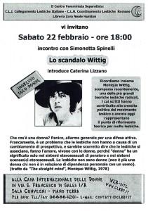 Cli collegamento lesbiche incontro herstory  femminismo luoghi donne storia gruppi Roma