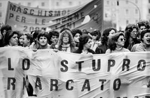 manifestazioni delle donne legge violenza sessuale Archivia. Herstory femminismo a roma e Lazio
