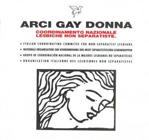 Arci Gay Donna libretto lesbiche herstory  femminismo luoghi donne storia gruppi Roma