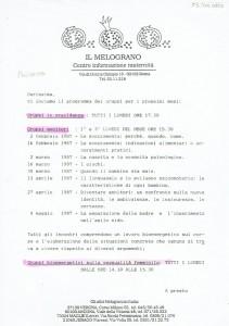 Associazione Nazionale Melograno attività herstory  femminismo luoghi donne storia gruppi Roma