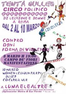 iniziative 8 marzo herstory  femministe  luoghi donne storia collettivi manifestazioni gruppi Roma