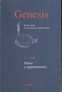 Società italiana storiche rivista genesis herstory  femminismo luoghi donne storia gruppi Roma