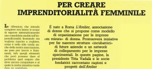 Atelier presentazione noidonne herstory  femministe  luoghi donne storia collettivi manifestazioni gruppi Roma