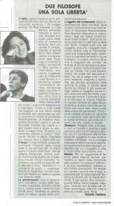 filosofe herstory  articolo noidonne femminismo luoghi donne storia gruppi Roma