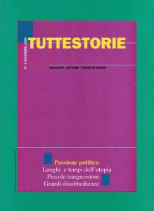 Tuttestorie rivista Copertina herstory  femminismo luoghi donne storia collettivi manifestazioni gruppi Roma