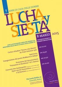 Casa donne Lucha Siesta herstory  femminismo storia collettivi gruppi Roma Lazio iniziativa