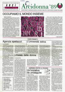 Arcidonna herstory  femministe  luoghi storia collettivi manifestazioni gruppi Roma
