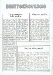 diritto e rovescio occupazione Centro Femminista Internazionale herstory  luoghi donne storia gruppi Roma