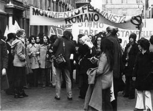 aborto conciani manifestazioni delle donne Archivia. Herstory famminismo a roma e Lazio dagli anni 70 a oggi