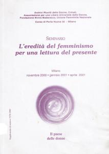 copertina pubblicazione paese delle donne herstory  mappa luoghi storia gruppi Roma
