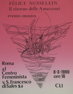 Cli lesbiche mostra herstory  femminismo luoghi donne storia gruppi Roma