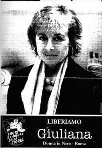 Donne in nero  manifestazione herstory  femminismo storia collettivi gruppi Roma sgrena