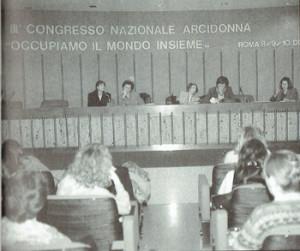Arcidonna congresso herstory  femministe  luoghi storia collettivi manifestazioni gruppi Roma