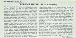 Società italiana storiche scuola estiva noidonne herstory  femminismo luoghi donne storia gruppi Roma