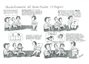 Cli lesbiche vignetta sara herstory  femminismo luoghi donne storia gruppi Roma