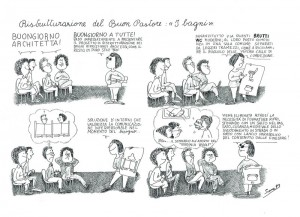 vignetta sara CFS  centro separatista femminista herstory  lesbiche  luoghi collettivi gruppi Roma