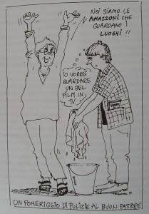 vignetta lister lesbiche centro separatista femminista herstory  luoghi collettivi gruppi Roma