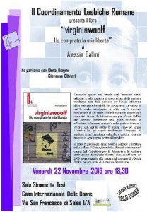 presentazione clr CFS centro femminista herstory separatismo luoghi collettivi gruppi donne Roma