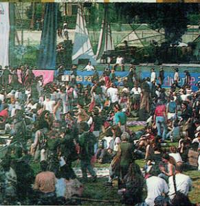 manifestazione piazza siena paese delle donne herstory  mappa luoghi storia gruppi Roma