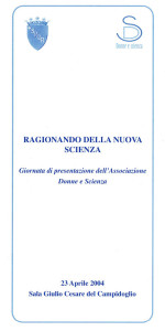 donne scienza presentazione associazione femminismo luoghi donne storia gruppi Roma