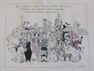 disegno lori paese delle donne herstory  mappa luoghi storia gruppi Roma